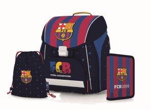 Školní set OXY PREMIUM FLEXI FC Barcelona (aktovka + penál + sáček)