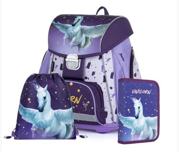 Školní set OXY PREMIUM - Unicorn Pegas (aktovka + penál + sáček)