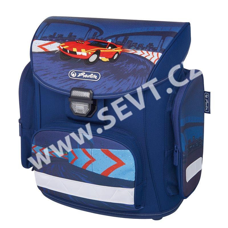 Školní batoh Herlitz Midi - Červené auto - prázdný - SEVT.cz dbf79bcbd6