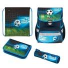 Školní aktovka Herlitz Loop - Fotbal - vybavená