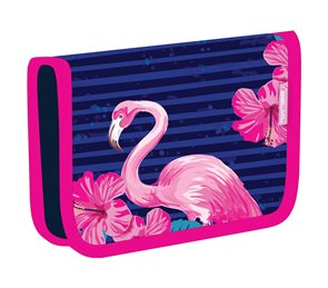 Školní penál Belmil - Flamingo