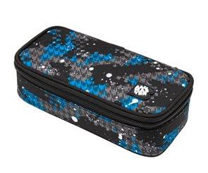 Školní pouzdro Bagmaster - BAG 9 D BLUE/GRAY/BLACK
