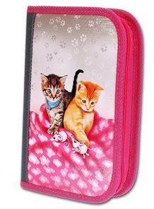 Školní penál Emipo, 2 klopy - Cats&Mice