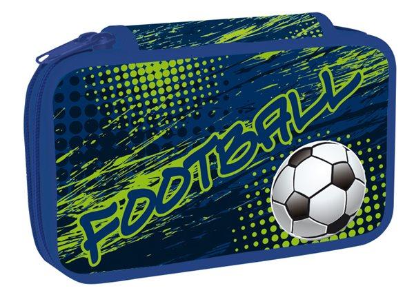 Školní penál dvoupatrový - Football 2