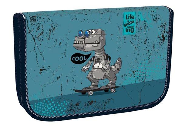 Školní penál jednopatrový Cool Robot