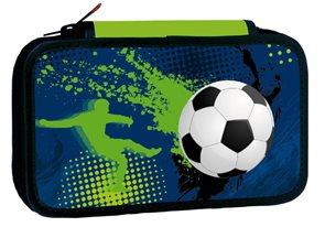 Školní penál třípatrový Football 3
