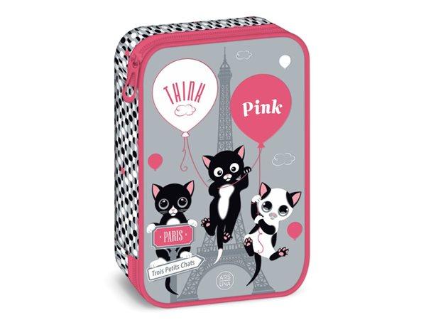Školní penál velký Ars Una Think Pink 20