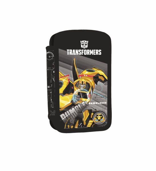 Školní penál 2patrový prázdný - Transformers