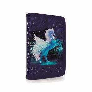 Penál 1patrový s chlopní naplněný - Unicorn/Jednorožec