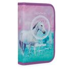 Penál 1patrový s chlopní naplněný - Kůň Romantic