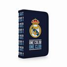 Penál 1patrový 2 klopy prázdný OXY - Real Madrid 2019