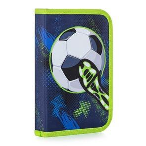 Penál 1patrový s chlopní naplněný - Fotbal 2020