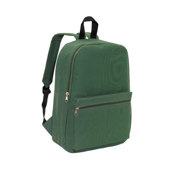 Batoh pro volný čas - tmavě zelený