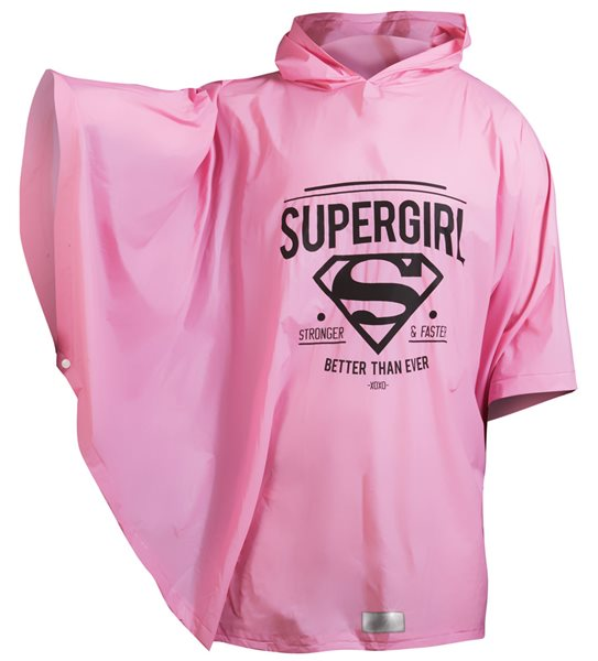 Pláštěnka pončo Supergirl