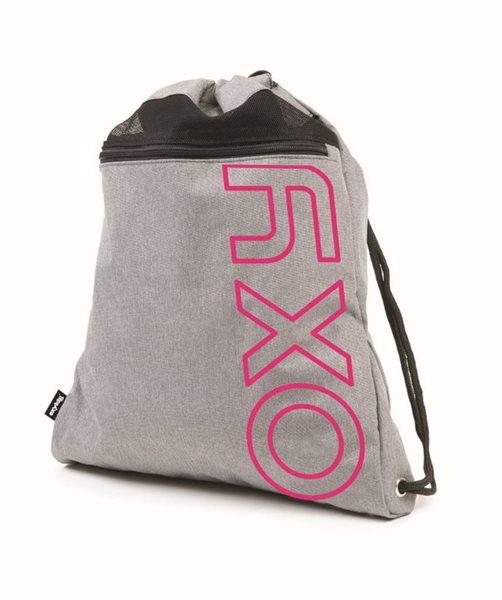 Sportovní vak na záda OXY - Grey / Pink