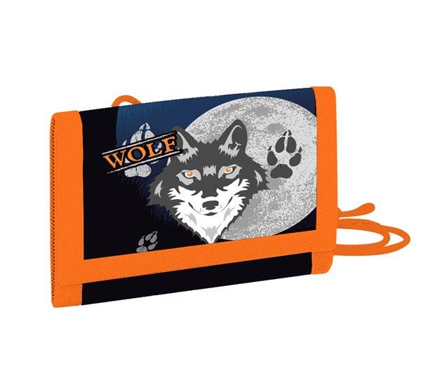 Dětská peněženka OXY - Vlk 2020