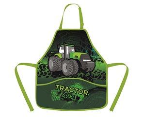 Zástěra do výtvarné výchovy - Traktor