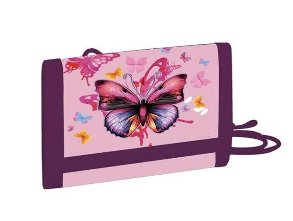 Dětská peněženka OXY - Motýl / Butterflies 2021