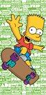 Dětská osuška - Bart green