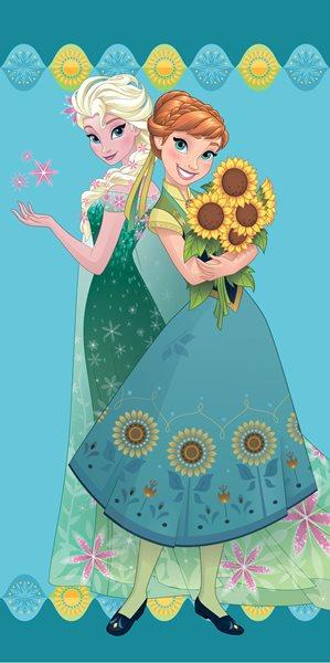 Dětská osuška - Ledové království Flower