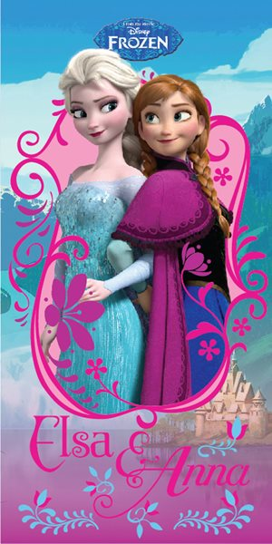 Dětská osuška - Ledové království - Elsa a Anna