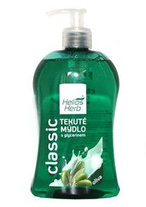 Helios Herb Tekuté mýdlo 500ml - oliva