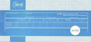 Alonž - Záznam o době řízení vozidla a bezpečnostní přestávky