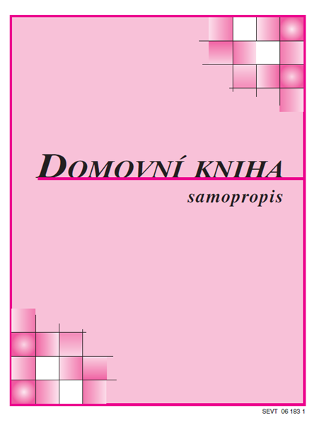 Domovní kniha (kniha ubytovaných) - samopropis - A6