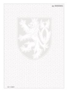 Bianco s vodoznakem a číslováním - závěrečné vysvědčení pro ZŠ, SŠ a víceletá gymnázia, maturitní v.