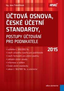 Účtová osnova, České účetní standardy – postupy účtování pro podnikatele 2015