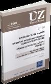 ÚZ 1091 / Energetický zákon, Zákon o podporovaných zdrojích energie, Zákon o hospodaření energií, - 14x21 cm