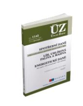 ÚZ 1145 / Spotřební daně, líh, paliva a maziva, energetické daně
