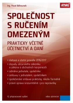 Společnost s ručením omezeným 2016 - Pavel Běhounek