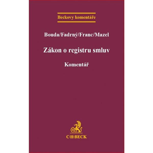 Zákon o registru smluv - Bouda, Fadrný, Franc, Mazel