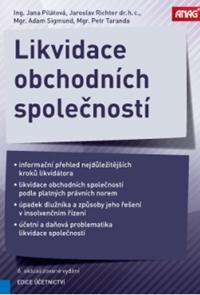 Likvidace obchodních společností 6. aktualizované vydání