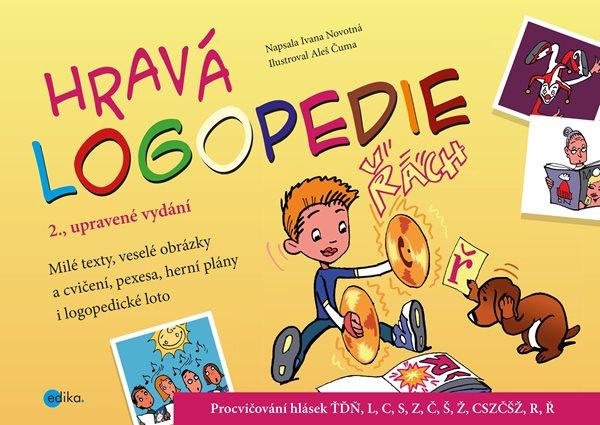 Hravá logopedie - Ivana Novotná - 31x22 cm