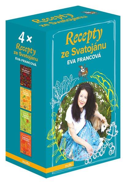 Recepty ze Svatojánu BOX - Eva Francová - 17x24 cm, Sleva 17%