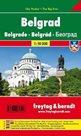 Bělehrad - 1:10 000 kapesní plán města