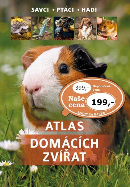 Atlas domácích zvířat - 17x25 cm, Sleva 50%