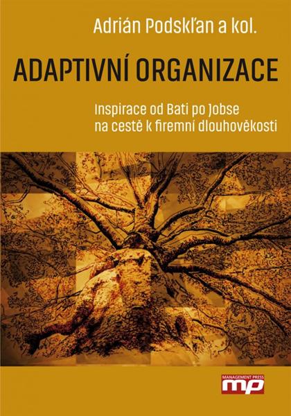 Adaptivní organizace - Adrián Podskľan - 17x24 cm