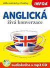 Anglická živá konverzace Audiokniha s mp3 CD