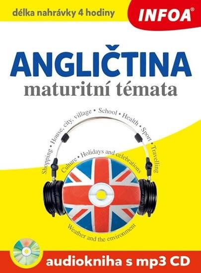 Angličtina maturitní témata Audiokniha s mp3 CD - 15x20 cm