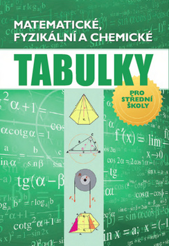 Matematické, fyzikální a chemické tabulky - Radek Chajda - 17x24 cm