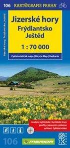 Jizerské hory, Frýdlansko, Ještěd 1: 70 000
