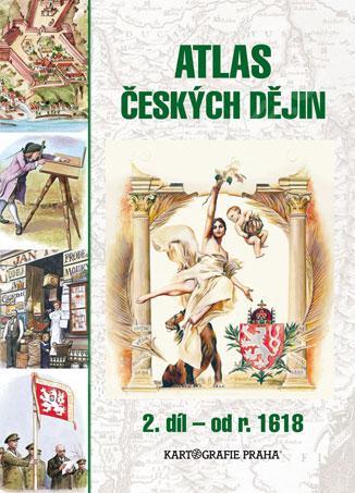 Atlas českých dějin - 2.díl - 23x32 cm