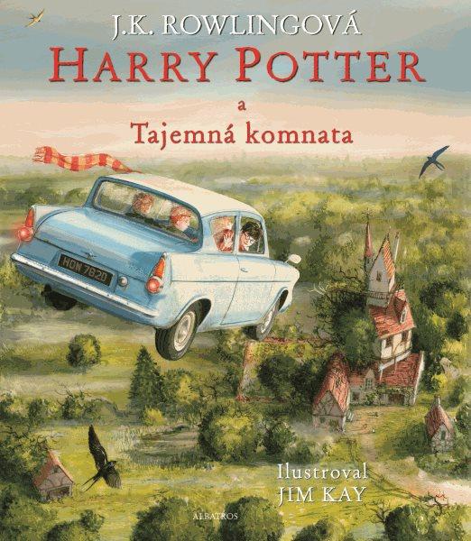 Harry Potter a Tajemná komnata - ilustrované vydání - J. K. Rowlingová - 21x25 cm