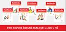 Sada 7 pracovních sešitů pro rozvoj školní zralosti u dětí v MŠ / Kuliferda pracovní sešity