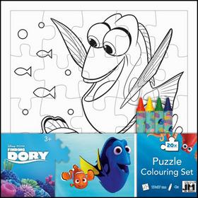 Hledá se Dory omalovánkové puzzle - 20x19 cm