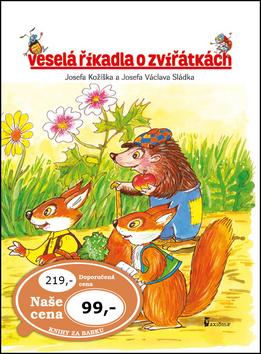 Veselá říkadla o zvířátkách - Josef Kožíšek, Václav Sládek - 20x27 cm