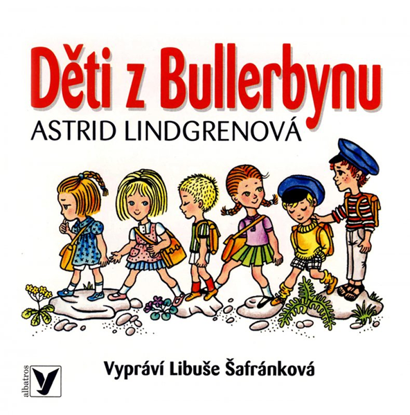 CD Děti z Bullerbynu - Astrid Lindgrenová - 13x14 cm